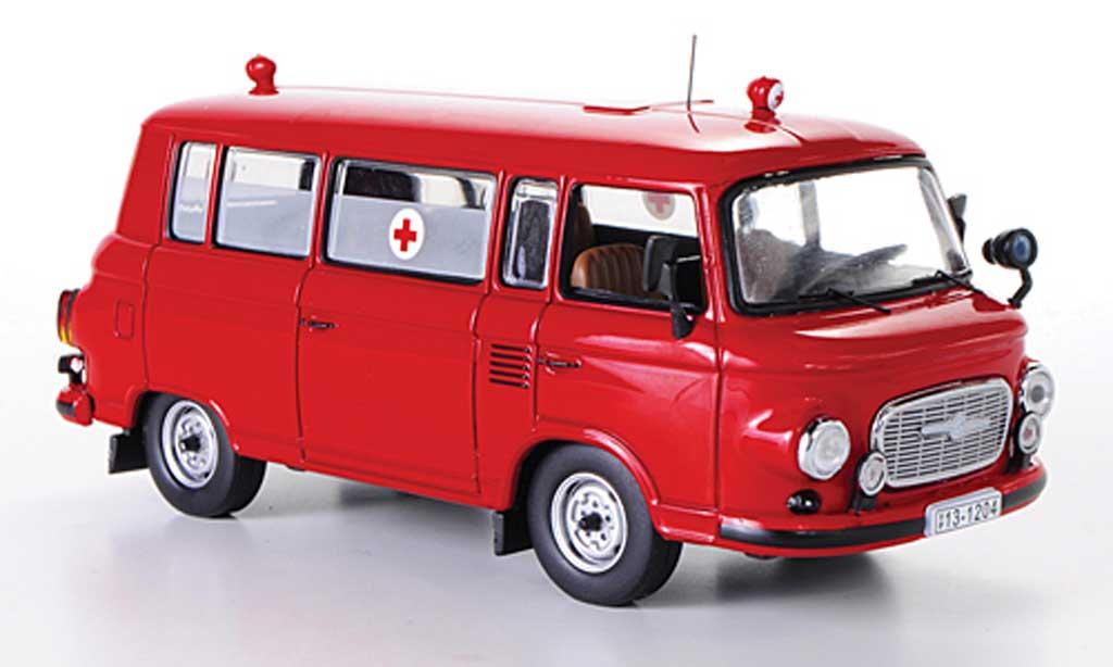 Barkas B1000 1/43 IST Models Feuerwehr 1970 miniature