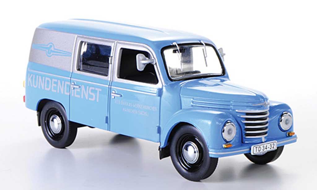 Porsche 901 1/43 IST Models V/2 Kastenwagen Barkas Kundendienst 1954 miniature