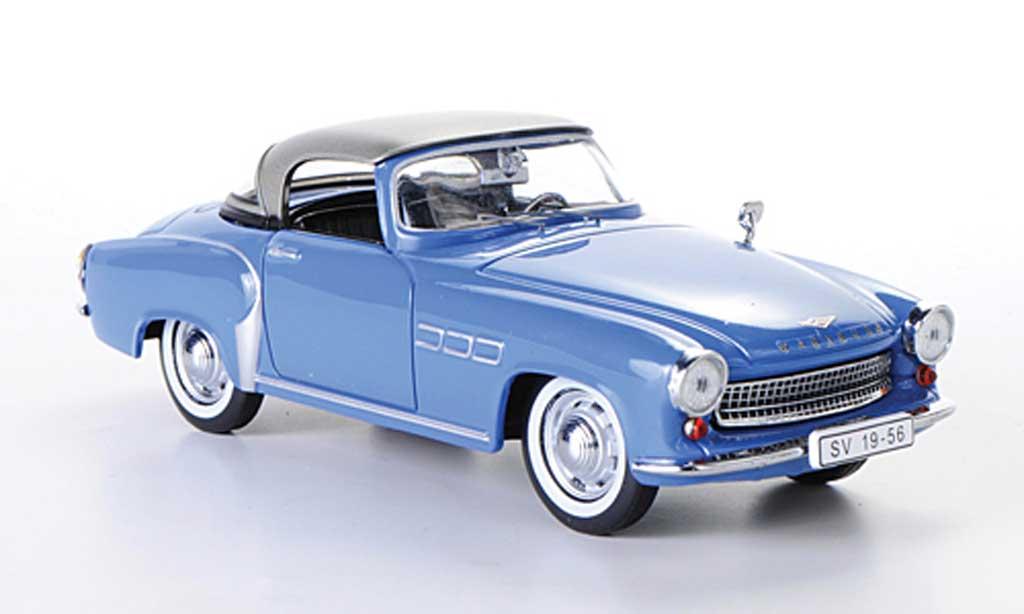 Wartburg 313 1/43 IST Models 1 bleu/grise 1957 miniature
