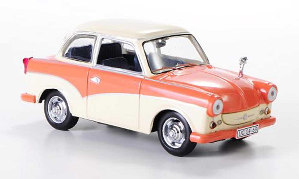 Trabant P50 1/43 IST Models beige/pink 1958 miniature