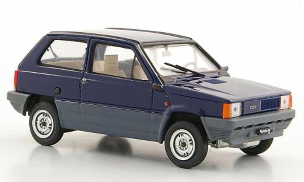 Fiat Panda 1/43 Brumm 45 bleue 1980 miniature
