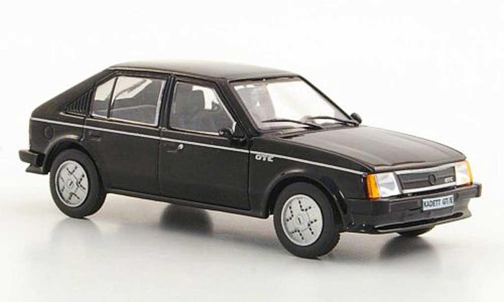 Opel Kadett D 1/43 Hachette GT/E noire (ohne Magazin) 1983
