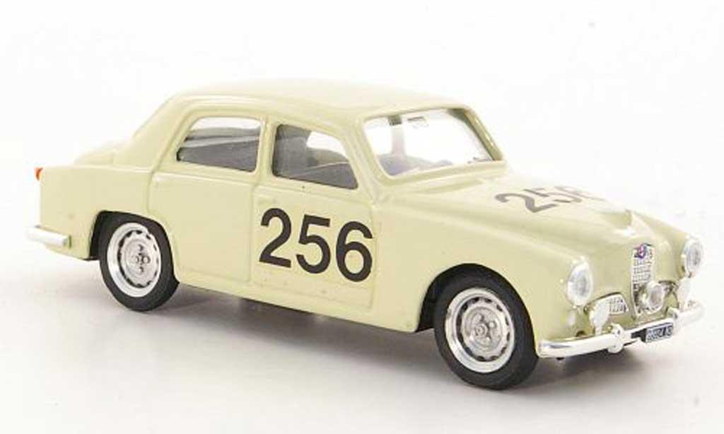 Alfa Romeo 1900 1/43 Brumm No.256 Mille Miglia 1954 miniature