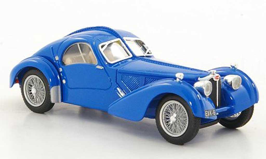 Bugatti 57 SC 1/43 Brumm Atlantic bleu 1938 diecast model cars