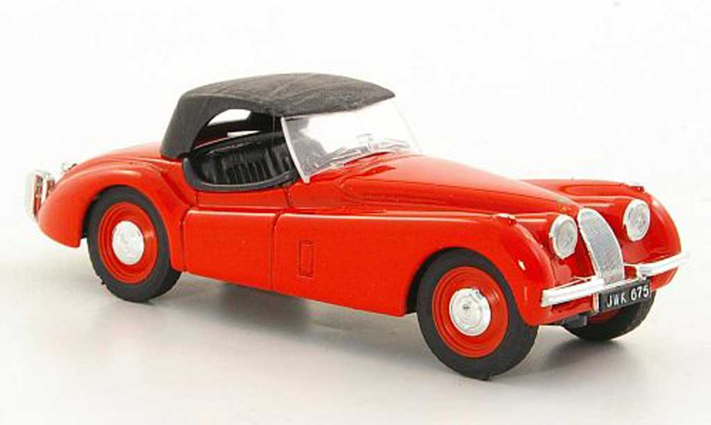 Jaguar XK 120 1/43 Brumm rouge 1948 miniature