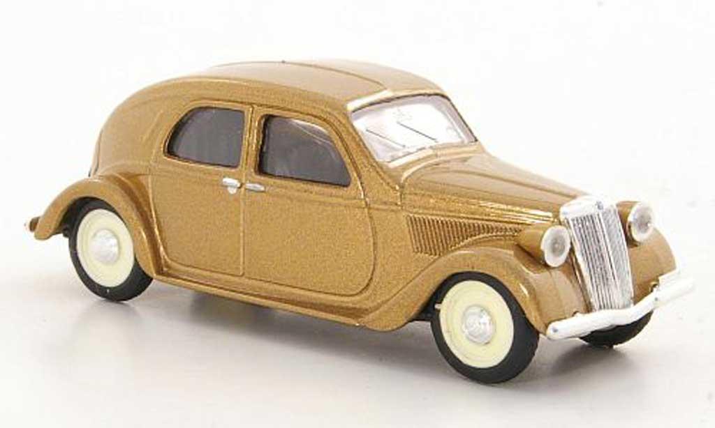 Lancia Aprilia 1/43 Brumm gold 1936 miniature