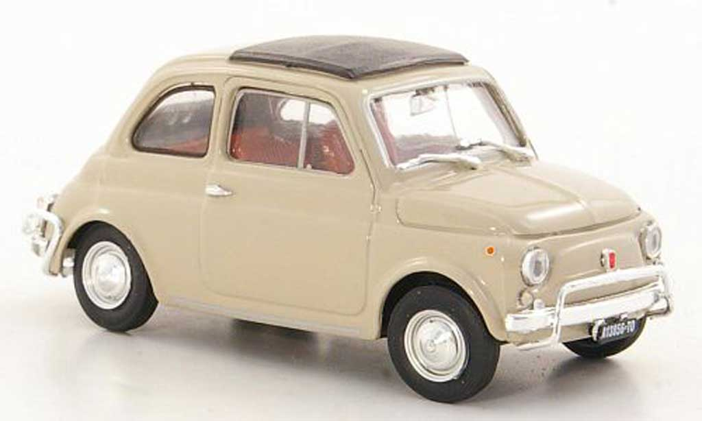 Fiat 500 L 1/43 Brumm beige 1968