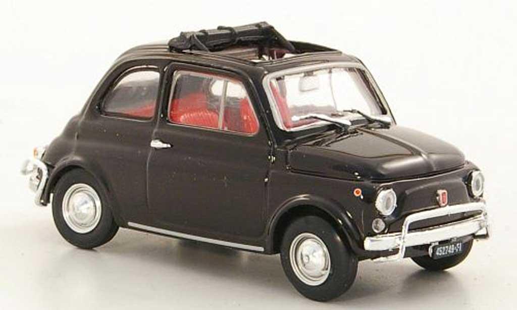 Fiat 500 L 1/43 Brumm marron 1968 miniature