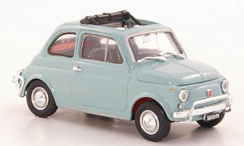 Fiat 500 L 1/43 Brumm greybleu 1968 diecast model cars