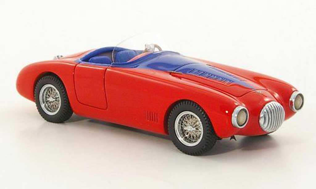 Osca MT4 1953 1/43 Lux B rouge/bleu miniature