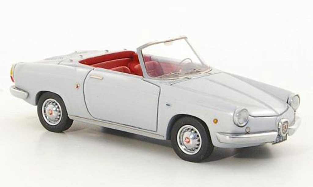 Abarth 850 Spyder 1/43 Lux B Riviera grise 1959 miniature
