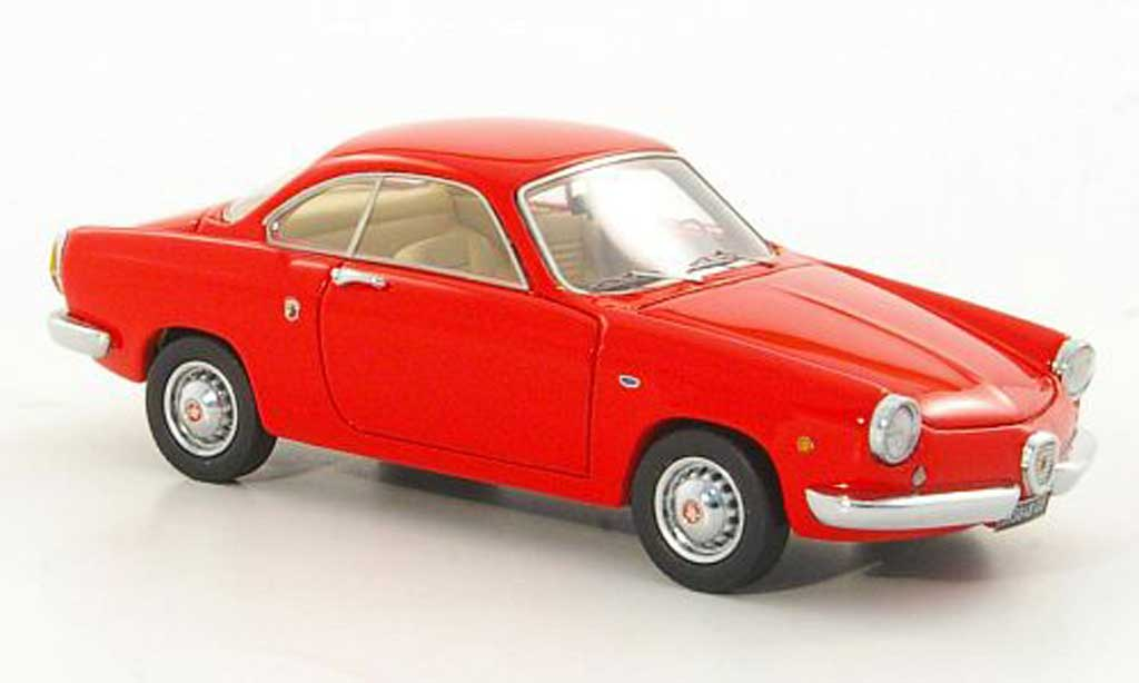 Abarth 850 coupe 1/43 Lux B rouge 1959 miniature
