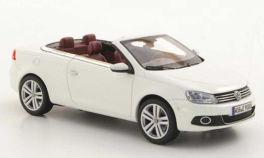 volkswagen eos miniature blanche 2011 kyosho 1 43 voiture. Black Bedroom Furniture Sets. Home Design Ideas