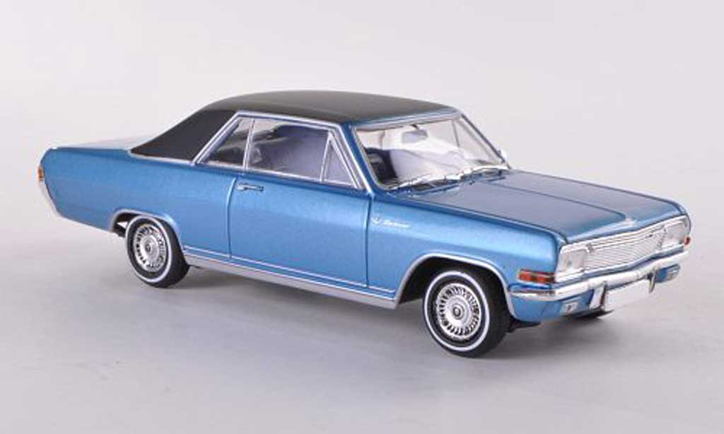 Opel Diplomat A V8 Coupe blue/black  Sondermodell MCW  1965 Minichamps. Opel Diplomat A V8 Coupe blue/black  Sondermodell MCW  1965 miniature 1/43