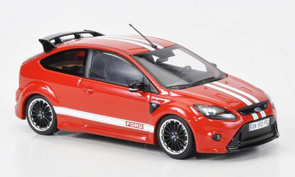 Ford Focus RS Le Mans 1/43 Minichamps Edition rouge (GT 40 Design 1967) Sondermodell MCW 2010 miniature