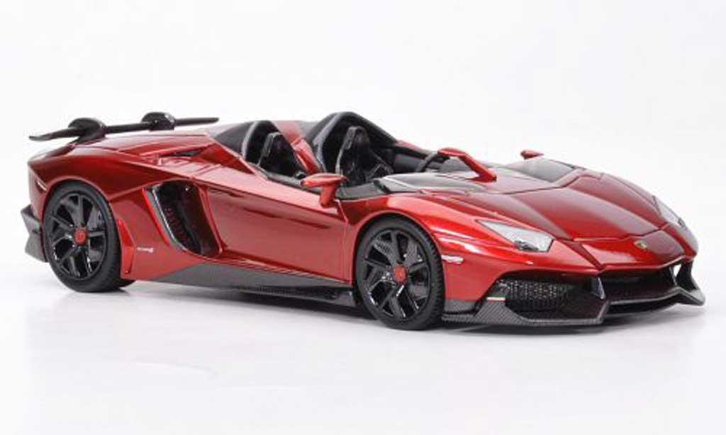 Lamborghini Aventador J 1/43 Look Smart rouge Autosalon Genf 2012 miniature