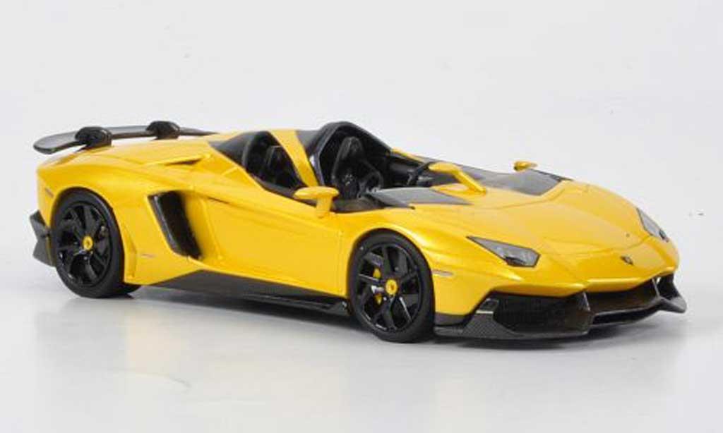 Lamborghini Aventador J 1/43 Look Smart Autosalon Genf jaune 2012 miniature