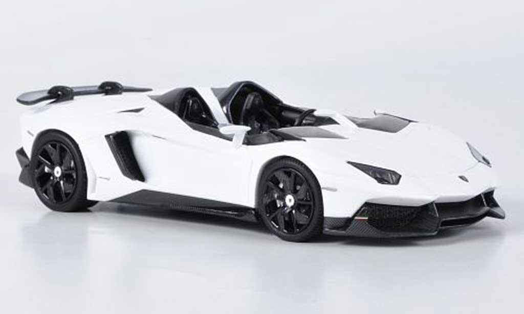 Lamborghini Aventador J 1/43 Look Smart blanche Automobilsalon Genf 2012 miniature