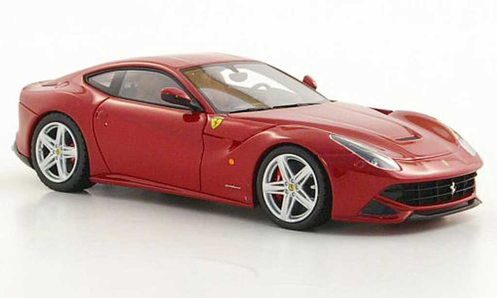 Ferrari F12 1/43 Look Smart Berlinetta rouge Autosalon Genf 2012 miniature