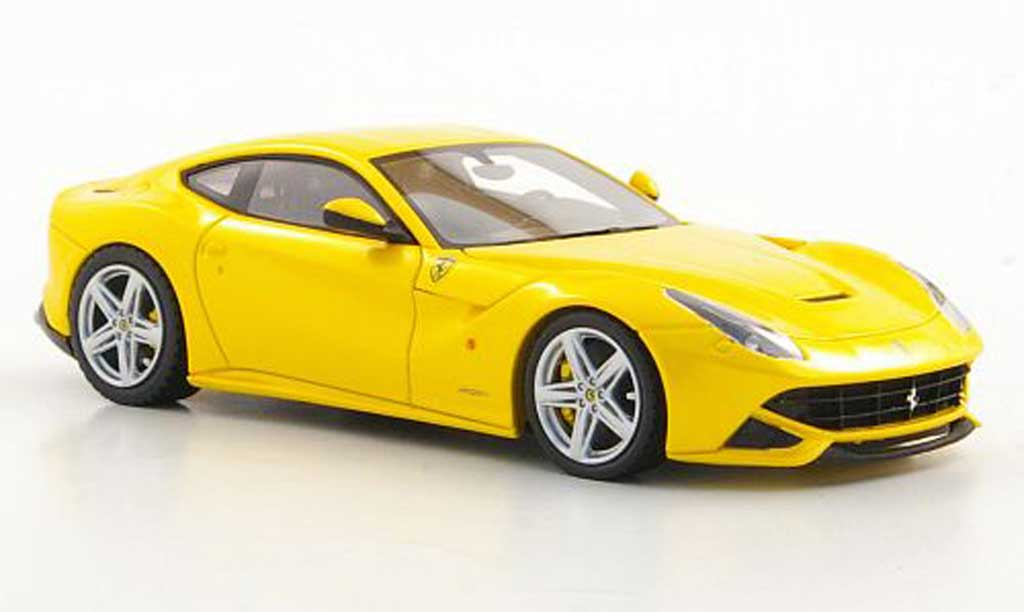 Ferrari F12 1/43 Look Smart Berlinetta jaune Autosalon Genf 2012 miniature