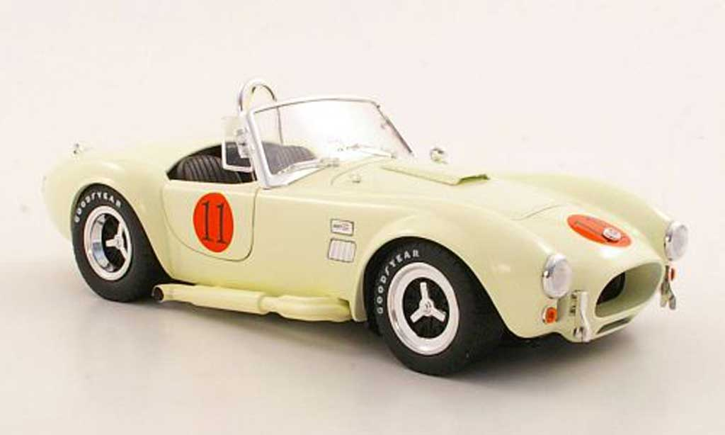 Shelby Ac Cobra 1/18 Shelby Collectibles 427 S/C No.11 miniature