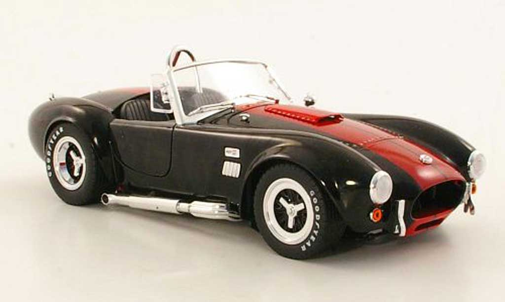 Shelby Ac Cobra 1/18 Shelby Collectibles 427 S/Cnoire/rouge miniature