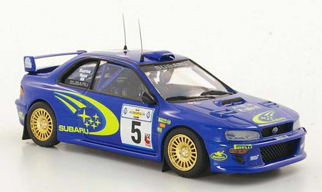 Subaru Impreza WRC 1/43 Trofeu No.5 Burns / Reis Rally Acropolis 1999 diecast model cars