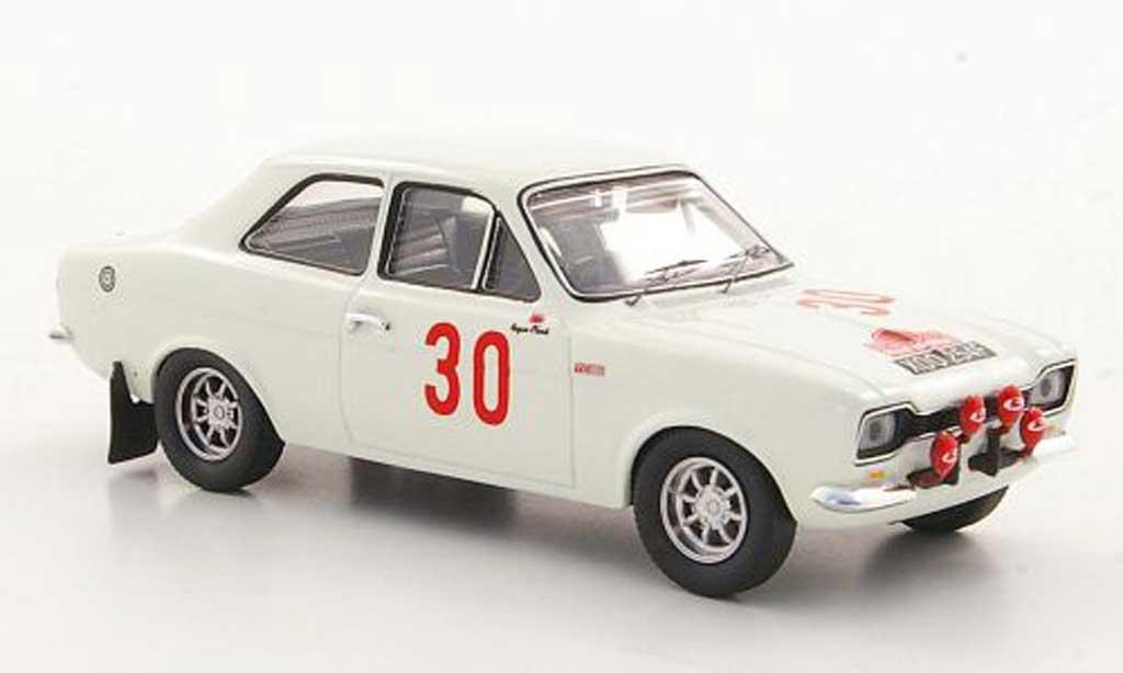 Ford Escort MK1 1/43 Trofeu 1600 TC No.30 R.Clark / G.Porter Rally Acropolis 1968 miniature