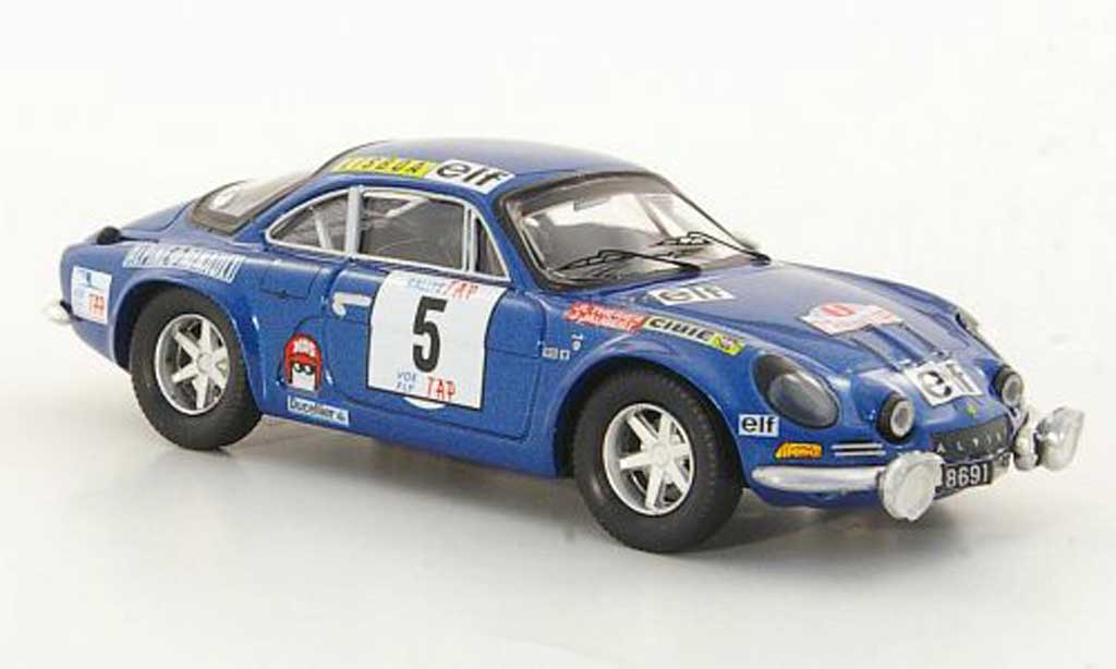 Alpine A110 1/43 Trofeu 1800S No.5 J.L.Therier / J.Jaubert TAP Rally 1973 miniature