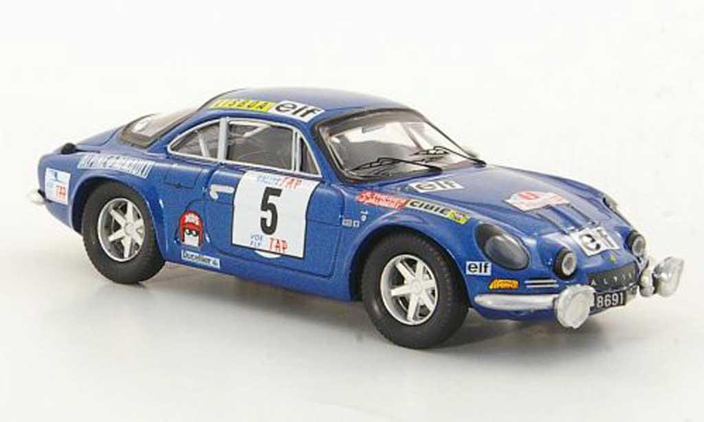 Alpine A110 1/43 Trofeu 1800S No.5 J.L.Therier / J.Jaubert TAP Rally 1973