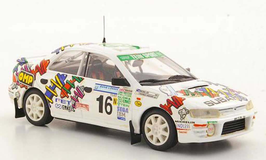 Subaru Impreza WRC 1/43 Trofeu STi No.16 Y.Nakahara / M.Lieu Asia-Pacific Rally 1996 modellautos