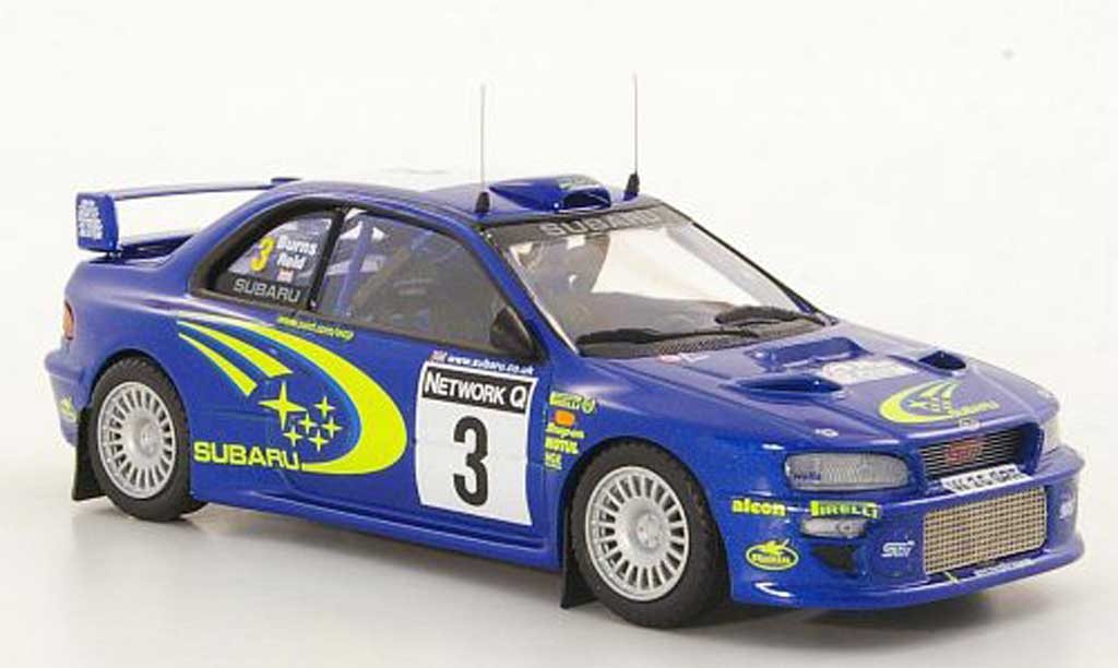 Subaru Impreza WRC 1/43 Trofeu No.3 R.Burns / Reid RAC Rally 2000 diecast model cars