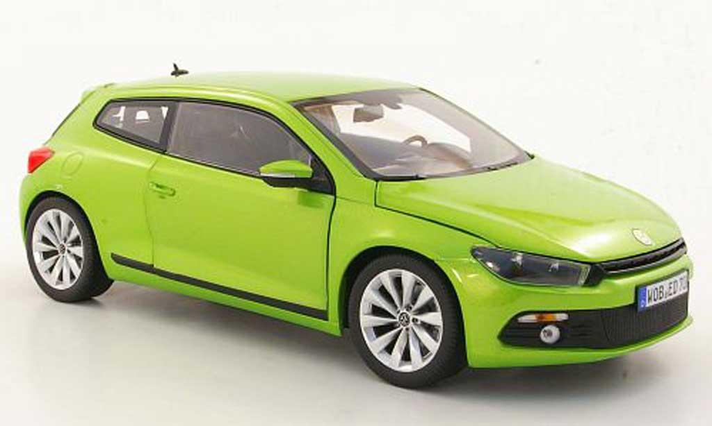 Volkswagen Scirocco 1/18 Norev 3 verte 2008