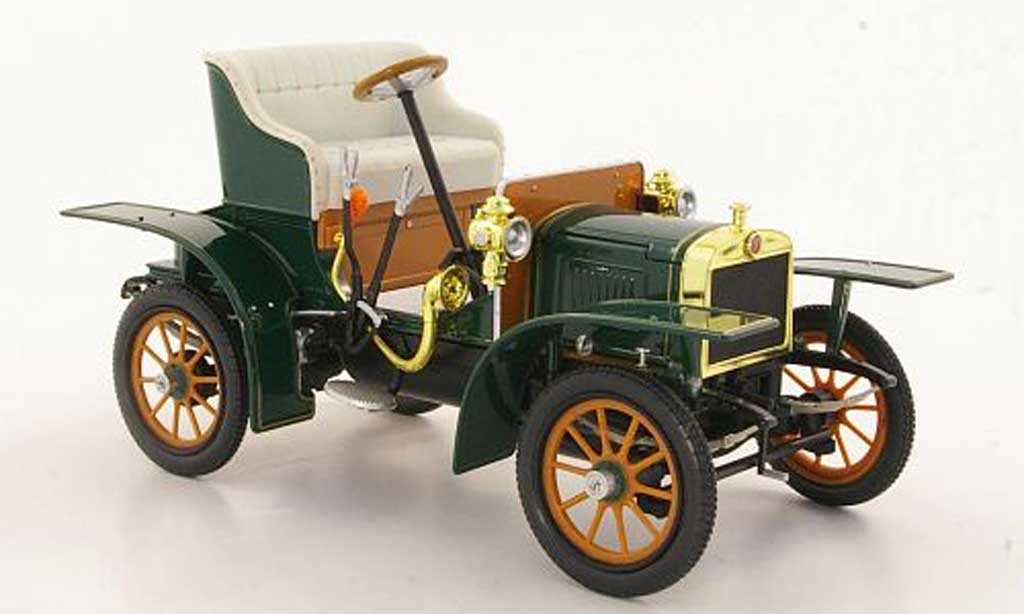 Laurin Klement Voiturette 1/18 Abrex Laurin-Klement grun 1905 miniature