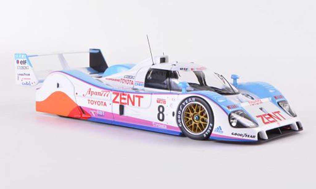 Toyota TS010 1/43 HPI No.8 Team Tom s J.Lammers / A.Wallace / T.Fabi 24h Le Mans 1992 miniature