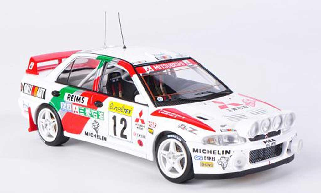 Mitsubishi Lancer Evolution II 1/43 HPI No.12 A.Aghini / S.Farnocchia Rally Monte Carlo 1995 miniature