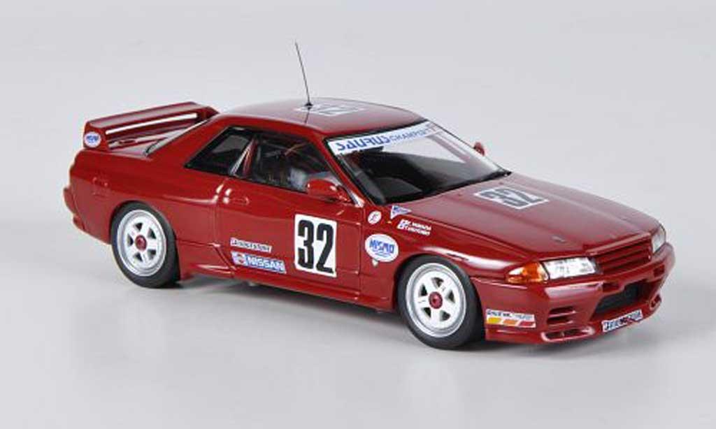 Nissan Skyline R32 1/43 HPI GT-R No.32 Saurus Champ / Nismo E.Yamada / T.Okitomo JTC 1991 miniature