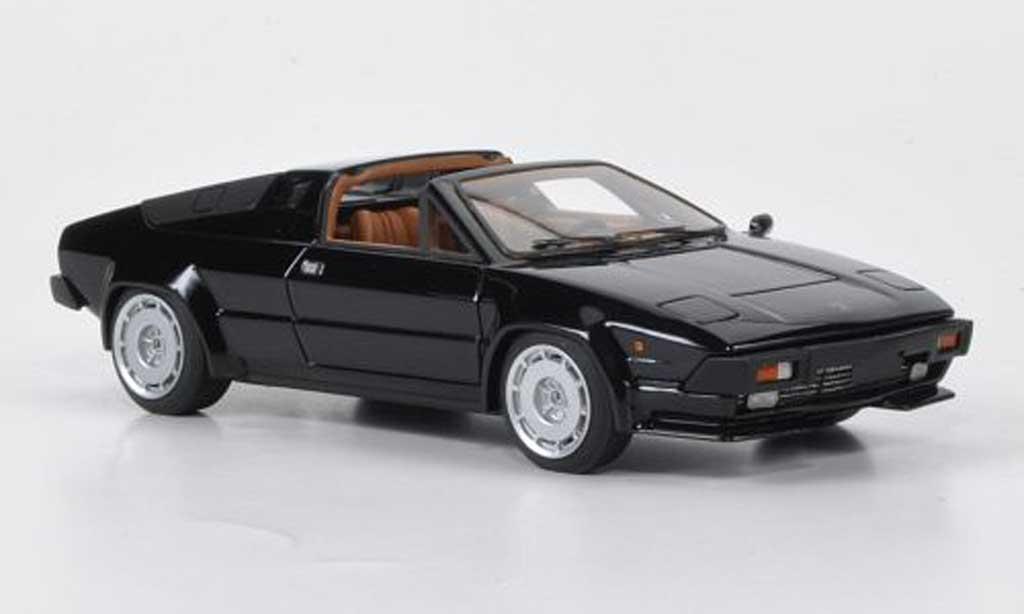 Lamborghini Jalpa 1/43 Look Smart noire 2012 miniature