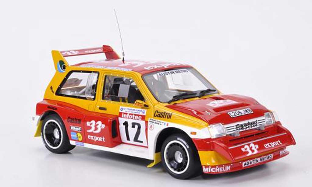 MG Metro 1/18 Ottomobile 6R4 No.12 33 export D.Auriol/B.Occelli Rallye Frankreich 1986 miniature