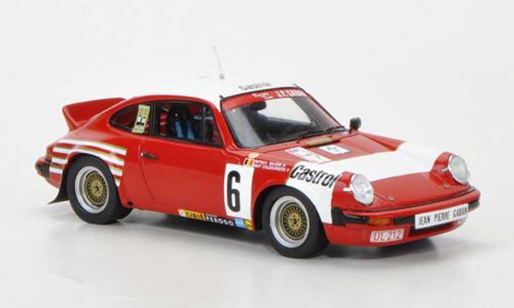 Porsche 930 1/43 Spark SC No.6 Bastos Racing Team J.P.Gaban P.Snijers / D.Colebunders Rally-Circuit des Ardennes 1983 miniature