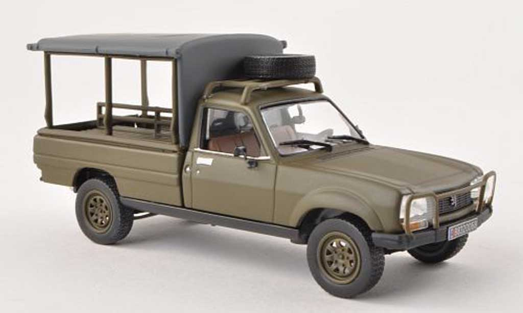 peugeot 504 pick up pick up army d green 1979 norev diecast model car 1 43 buy sell diecast. Black Bedroom Furniture Sets. Home Design Ideas