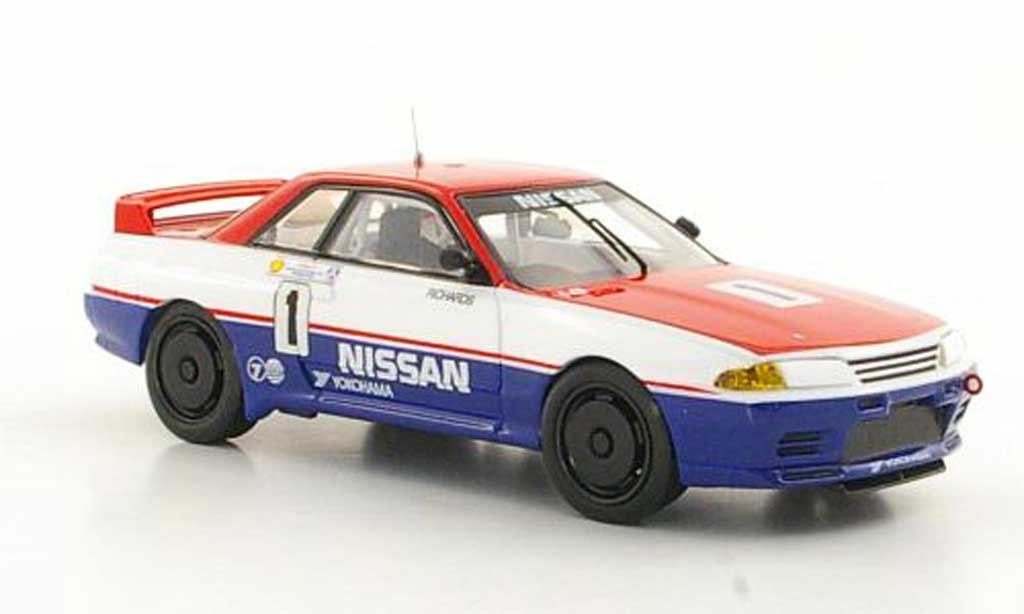 Nissan Skyline R32 1/43 Apex GT-R No.1 J.Richards ATCC 1991 miniatura