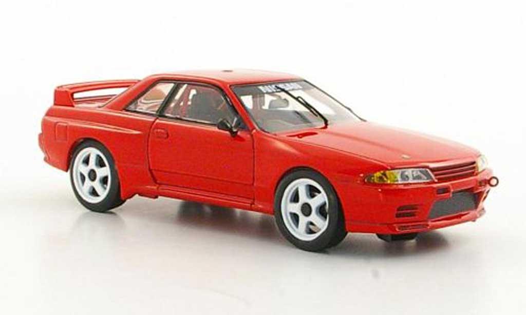 Nissan Skyline R32 1/43 Apex GT-R Gr.A rouge RHD miniature