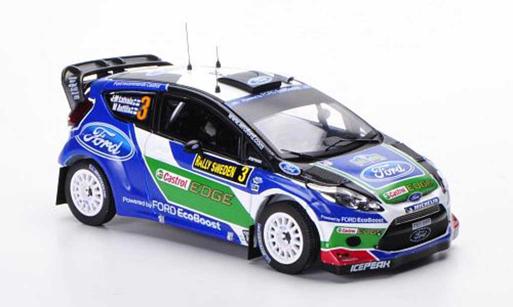 Ford Fiesta WRC 1/43 IXO No.3 J.M.Latvala / M.Antilla Rally Schweden 2012 miniature