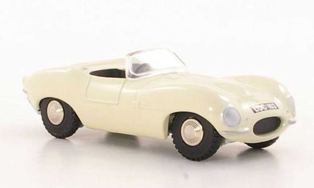 Jaguar XK SS 1/43 Norev beige RHD miniature