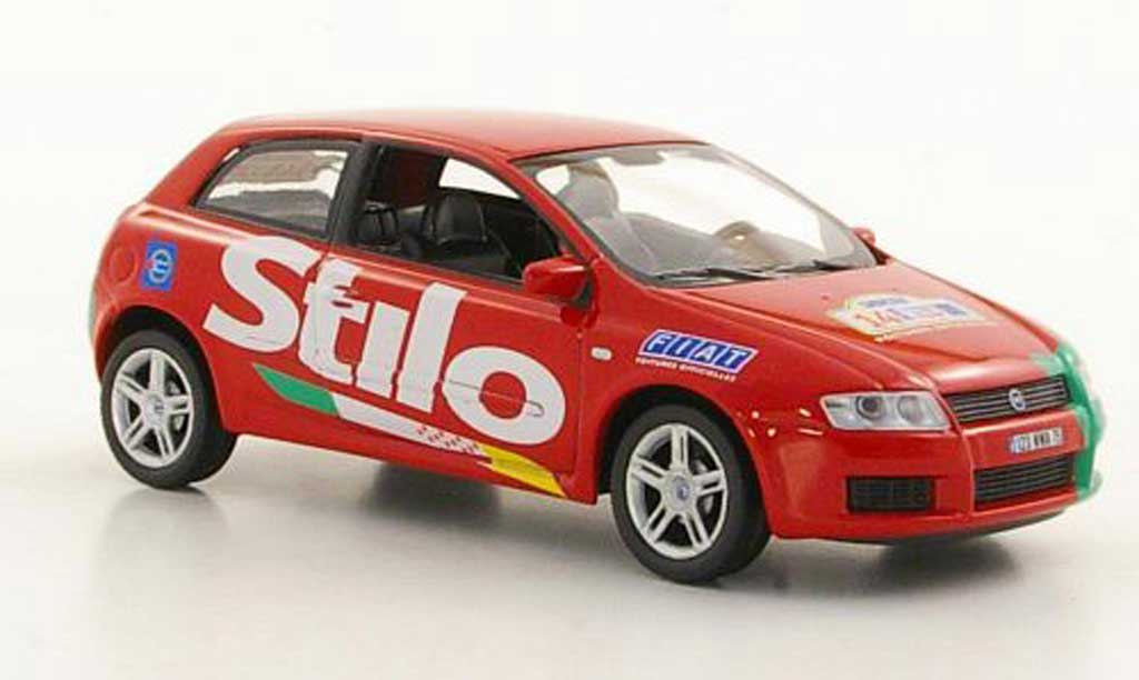 Fiat Stilo 1/43 Norev  PMU Tour de France 2002 miniature