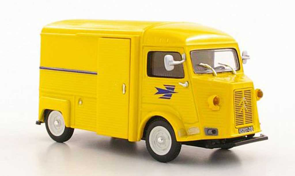 citroen type h miniature kasten la poste f norev 1 43 voiture. Black Bedroom Furniture Sets. Home Design Ideas
