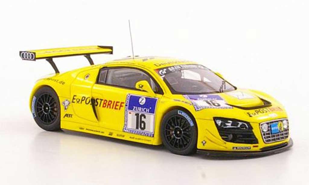 Audi R8 LMS 1/43 Spark No.16 Postbrief Abt / Ekstrom / Scheider / Werner ADAC 24h Nurburgring 2011 diecast