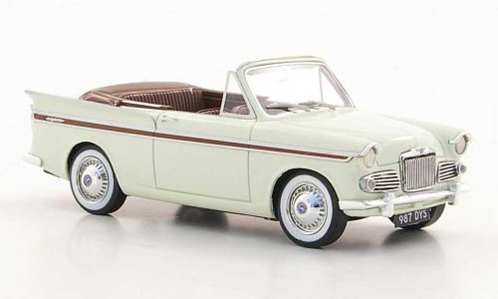 Sunbeam Rapier 1/43 Silas Models Series IIIa Convertible beige/marron 1961 miniature