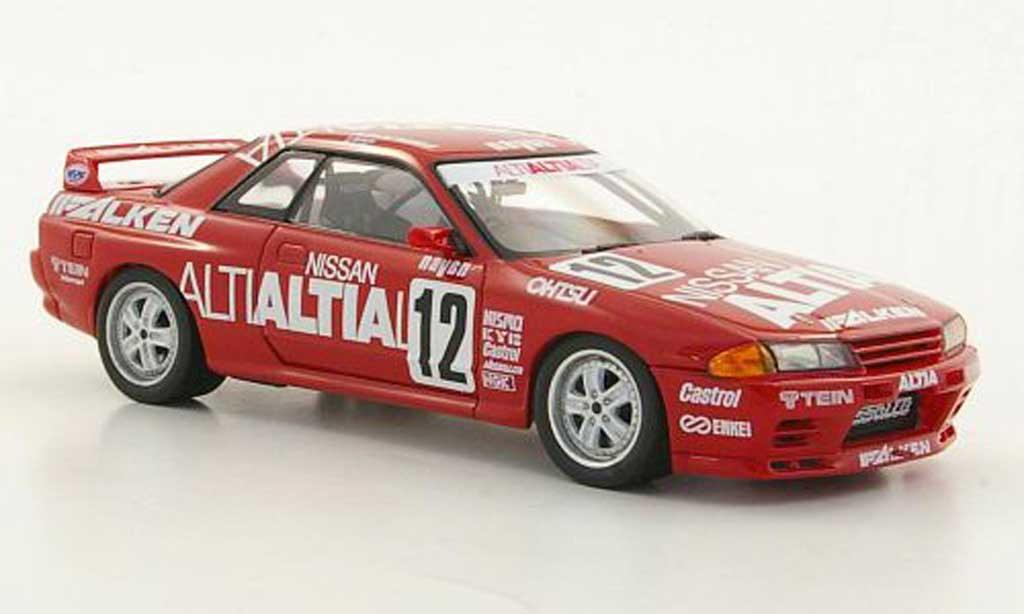 Nissan Skyline R32 1/43 HPI GT-R No.12 Altia Racing Team S.Katura / T.Hara N1 1992 modellino in miniatura